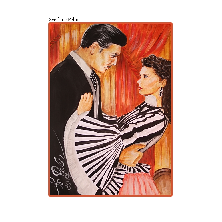 Clark Gable, Vivien Leigh par Svetliaciok